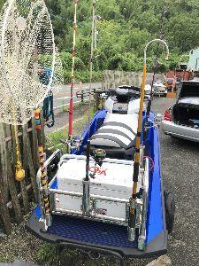 福岡 魚釣りのおはなし。 今日 水上バイクに釣り用ラック装着した、明日 長潮だがバイク出します、装備が充実して楽しいと思う。