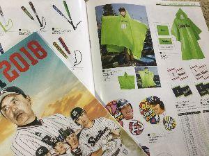 ☆鯉人募集板☆ Yakultのフアンブックとグッズカタログがきました。 何処かのパクリ感満載😃