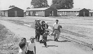 島津惟新義弘公 今日2月19日は、アメリカに住む日本人・日系人には忘れられない日です。それは、75年前の今日、当時の