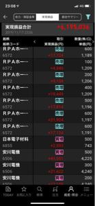 6572 - RPAホールディングス(株) は?平均1,100円台だけど^ ^  半分利確しているけど、まだ8,000株持っている^ ^ 小物^