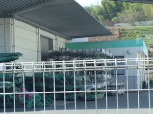5742 - エヌアイシ・オートテック(株) 先日買い増ししましたが、随分下げましたね! 今日、NICアルファーフレーム九州の工場を見に行きました