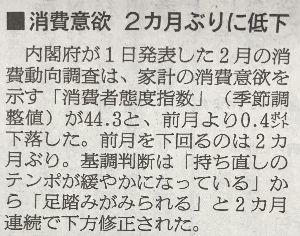 """日本経済 """"HARDLANDING"""" への道程 あいも変わらず 肝心かなめの個人消費は 低迷状況だなぁ!  こんな感じで 消費費10%実施可能なのか"""