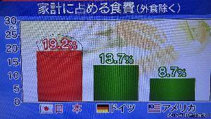 """日本経済 """"HARDLANDING"""" への道程 オイオイ エンゲル係数が19%台かい? 大衆貧困層は これからどこに行くんだ! ど〜するんだ!"""