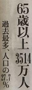 """日本経済 """"HARDLANDING"""" への道程 お先真っ暗だ  90才以上ですら 200万人強!  カネも無いのに イタズラに長生きしても 現役勤労"""
