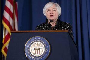 """日本経済 """"HARDLANDING"""" への道程 FRB Janet L Yellen議長は 来年早々で退任だけど いろいろガンバってくれ Thank"""