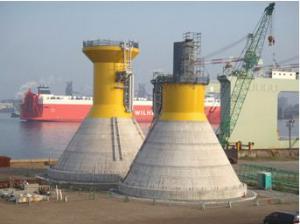 1813 - (株)不動テトラ 経済産業省は27日、国が指定する海域で洋上風力発電事業者の公募を始めた 先立って港湾整備  因みに着