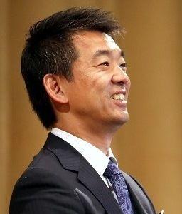 日本維新の会 敗者の作り笑い。 ニッカ~~・