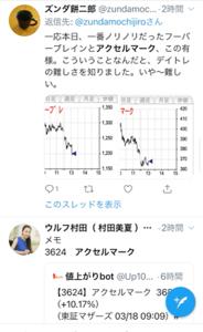 3624 - アクセルマーク(株) ふおおおおおおおオオオオオオオオオオオ!!!!