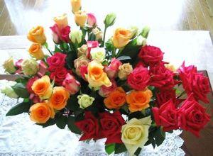 つぶやきにゃんこ はなまるな日々が多いのは とっても良いことですねっ (*´▽`*)  いつも心に 花束を