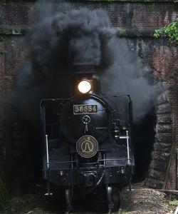 夢の平行線 瀑上(ばくじょう) 撮影2012年4月29日 球泉洞~一勝地間  前述のとおり、トンネル撮影にはまっ