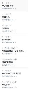 2706 - (株)ブロッコリー 今朝のTwitterのトレンド1位にうた☆プリのキャラが。  宮田さん(Kis-My-Ft2)とコラ