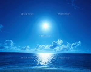 もっと自由に恋したい。(独り言専用トピ) 青い爽やかな空と海 k