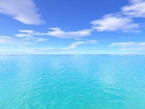 もっと自由に恋したい。(独り言専用トピ) 青い爽やかな空と海 f