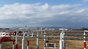 ■ 噴き上げ予兆 クラゲ(❛▽❛✿)市況TOB-BOT 文具屋に行って帰りに、高松空港に来ました。昼寝スポットで飛行機見に(´・ω・