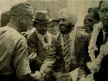 「指定放射性廃棄物最終処分場」問題 インド独立に尽くした日本        昭和17年2月17日午後1時、シンガポール 藤原は英軍代表者