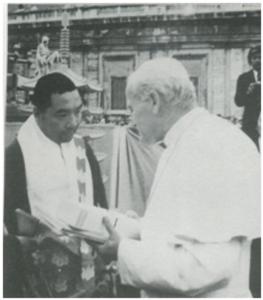 みのもんたの息子が他人のキャッシュカードで出金しようとした。 サン・ピエトロ大聖堂を訪問              バチカン宮殿内のシスティーナ礼拝堂等を視察