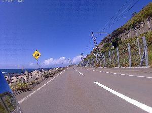 DT1から始まるヤマハ2ストオフ 念願の北海道行ってきました、写真は積丹半島です。
