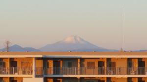 今日の出来事 かっちゃん🙋おはよう👋😃☀  いい天気だよね~~🚙💨 今ねー🗻富士山がきれいに見えている~~