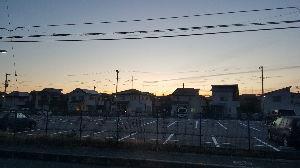 今日の出来事 おはよう(*´ー`)ノ  今朝はバイト🚚🚙💨の日 夜が明けます