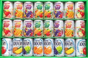 2669 - カネ美食品(株) 【 株主優待 到着 】 選択した 「カゴメすこやかファミリーギフト」 24缶 -。