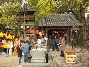死別された人いますか? 51番札所-石手寺  正月の初詣は神社とは限らないことを、愛媛県のこの寺と。香川県へ入って驚かされた