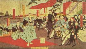 西会津は越後に売られたんだがね? 戊辰戦争後に一方的な会津裁判が行われ  松平容保と家老達は鶴ヶ城内の片隅で降伏の書を読み上げた後に土