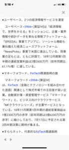 """3966 - (株)ユーザベース 【特集】 """"J-Startup""""企業に注目、世界で勝てる銘柄を追え <株探ト"""