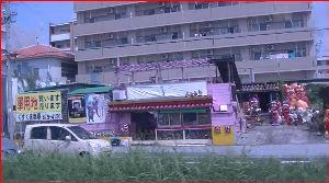 沖縄へ 看板 コレは初めて見る看板です。