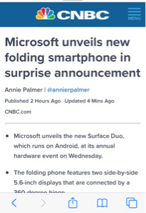 MSFT - マイクロソフト 新しいスマホ出すってよ!