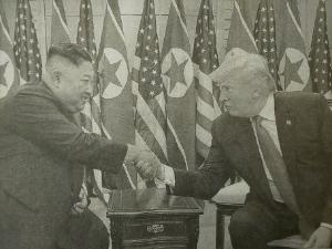 6208 - (株)石川製作所 トランプ大統領 「北朝鮮に対しては早急な核ミサイルの全廃を求めない。段階的な削減でも構わない」  金