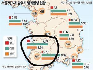 なぜ韓国人は、嫌われるのか? >>なぜ韓国人は、嫌われるのか?  日本で犯罪者は全員cis-ab型の長州藩人たちだ。