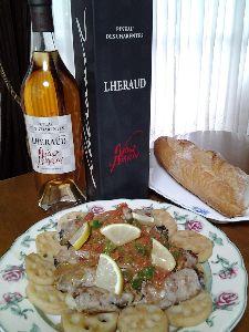 9月です これも  ランチのお伴に ちょっと贅沢にビノー・デ・シャラント15年 コニャックと葡萄果汁のブレンド