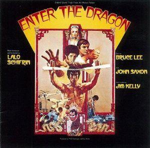 ♪音楽関係山手線ゲーム ☆☆☆  14.燃えよドラゴン (Enter the Dragon)  作曲 ラロ・ シフリン 1973年製