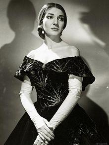 ♪音楽関係山手線ゲーム ☆☆☆ 2.マリア・カラス  有名なオペラ歌手です。 1923年12月2日生まれ。