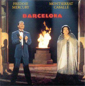 ♪音楽関係山手線ゲーム ☆☆☆ 15.Barcelona   五輪開催都市2つ目(Athenaに続く)  Freddie Mercu