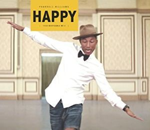 ♪音楽関係山手線ゲーム ☆☆☆ 13.Happy  ファレル・ウィリアムスのシングルです。 同名異曲は当然あるでしょう  https