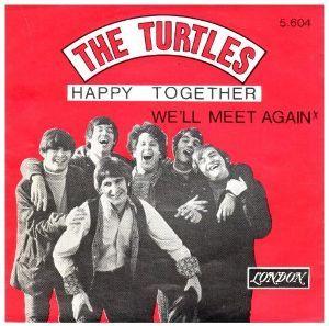 ♪音楽関係山手線ゲーム ☆☆☆ 4.Happy Together  (ハッピー・トゥゲザー)  歌 タートルズ (The Turtl