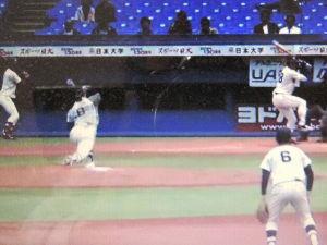 栄光の攻撃野球・東洋大学硬式野球部 東都大学野球春季リーグ戦 第三週 三回戦 第一試合  東洋大000 001 000  1 H11 E