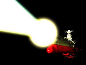 (~▽~@)♪♪♪…な つ か し の メ ロ デ イ 波動砲  添付📎宇宙戦艦ヤマト、波動砲
