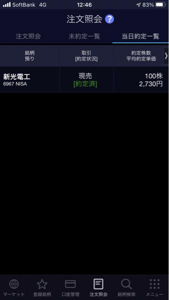 6967 - 新光電気工業(株) ごち!🙏  また安くなったら買おう!!👍