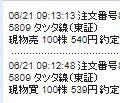5809 - タツタ電線(株) タツタ線で儲けられる方は神域の勘を備えています。 でないと儲けることはできません。