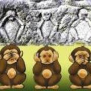 見猿(*ノωノ)聞猿(。-`ω-)言猿( *´艸`)