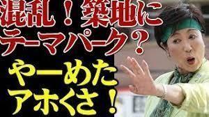 築地市場移転問題 5月に予想される『東京都知事選挙』では  しっかりとした人を選びたい物ですネ♪