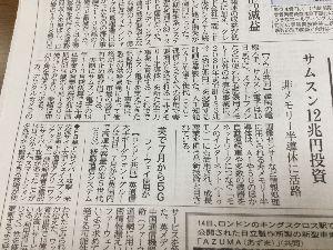 6254 - 野村マイクロ・サイエンス(株) サムスン12兆円投資だって こりゃ良いね