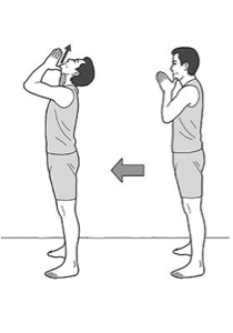 3776 - (株)ブロードバンドタワー みなさーん。 アゴ体操の時間ですよ! イチニ、イチニ  ヨウヘイのアゴ体操 イチニ、イチニ