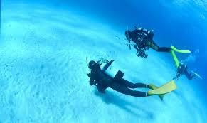 スキューバ 底泳ぎ