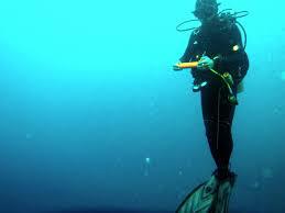 スキューバ 立泳ぎ