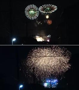 ■ 仕方なく一人ドライブ ■ こんにちは。  8月に入りました。 皆さま、お元気ですか?  先日、自宅付近から花火を見ました。 地