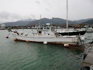 手前船頭倶楽部 皆さん おはようございます。 船頭さん はじめまして。 釣りだけでなくマリーナのお仕事もされているん