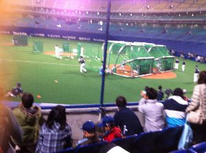 また岡田で負けましたw 上田に四球